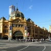 Flinders Street Station フリンダースストリート駅